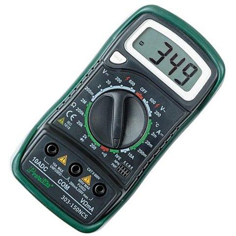Цифровой мультиметр Pro'sKit 303-150NCS - Просмотр 2