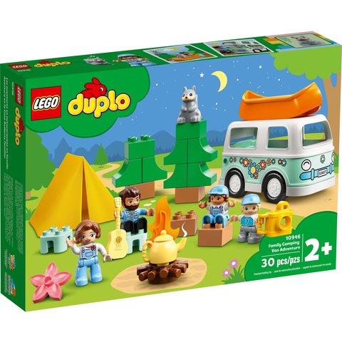 Конструктор LEGO DUPLO Семейное приключение на микроавтобусе 10946 Превью 10