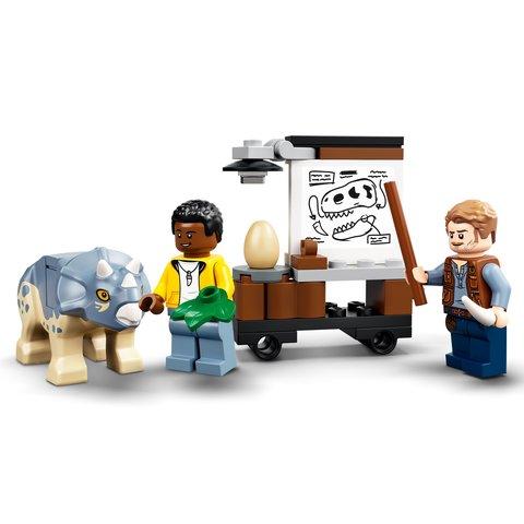 Конструктор LEGO Jurassic World Виставковий скелет тиранозавра 76940 Прев'ю 7