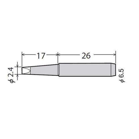 Soldering Iron Tip GOOT PX-60RT-2.4D Preview 1